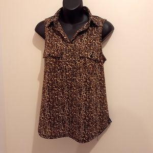 2 for $25- Stella Tweed Top, Size Medium